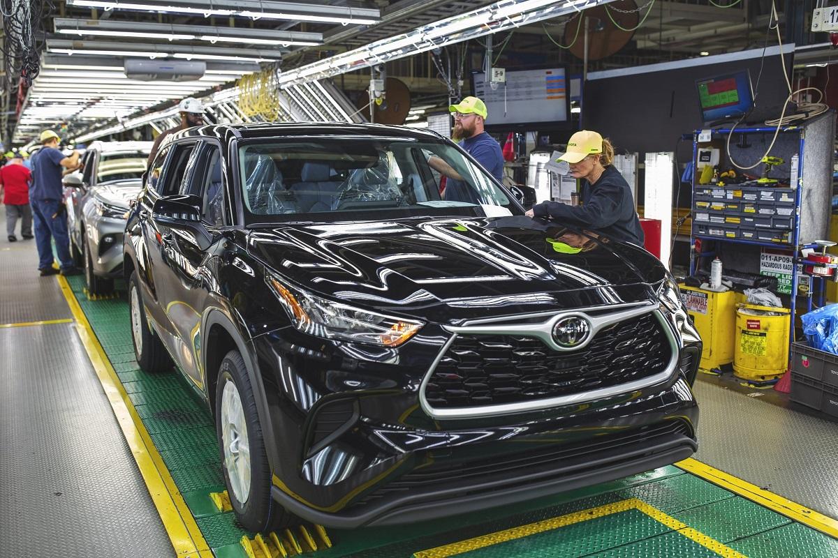 Toyota Completes $1.3 Billion Indiana Plant Modernization