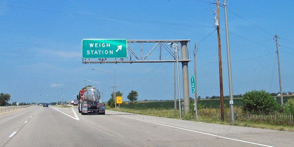 Bypassing weigh stations saves drivers and fleets time.