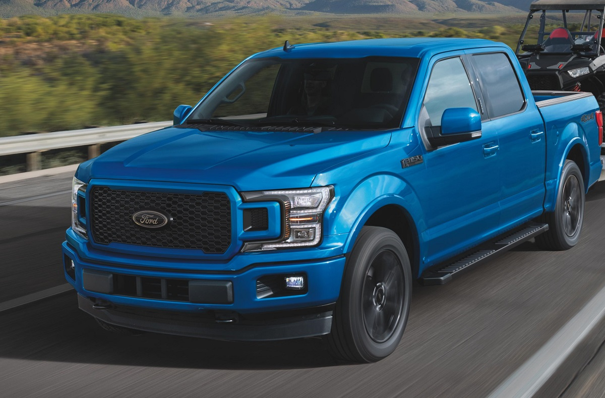 Ford Recalls F-150 Trucks for Daytime Running Lights
