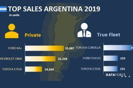 Argentina Fleet Sales Fell in 2019