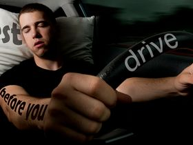 Wearable Tech Aims to Alert Drowsy Drivers