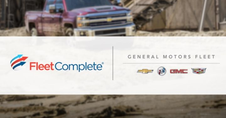 After partnering in the U.S. early last year, Fleet Complete announced they are working with General Motors to bring IoT-enabled services on OnStar-equipped vehicles to Canada. - Graphic courtesy of Fleet Complete.