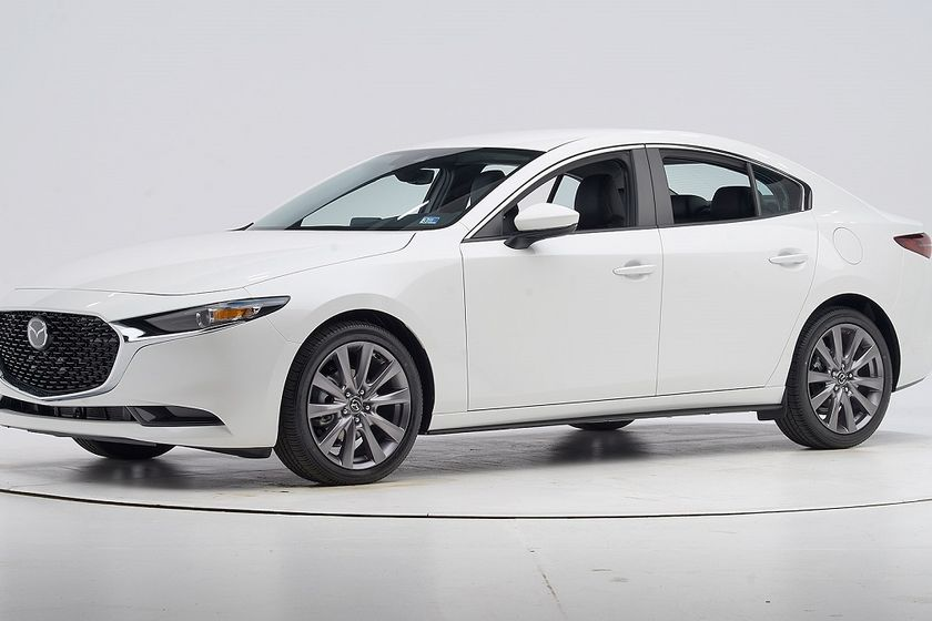 Mazda has the most Top Safety Pick+ awards with five — for the Mazda 3 sedan, Mazda 3 hatchback,...