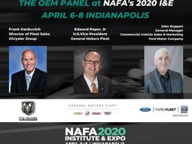 NAFA I&E 2020 to Feature OEM Panel