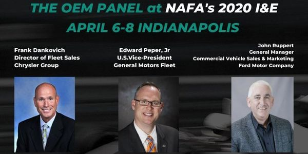 The OEM presentation will feature Frank Dankovich, director of fleet sales at Chrysler Group;...