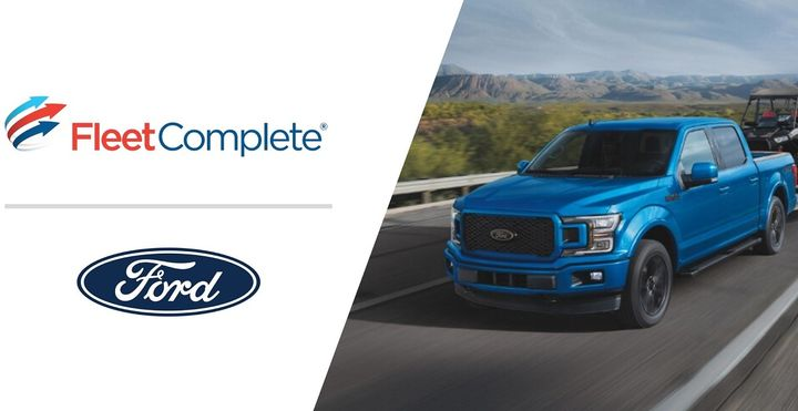 - Image courtesy of Fleet Complete / Ford.