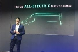 Ford Bringing All-Electric Transit to the U.S.