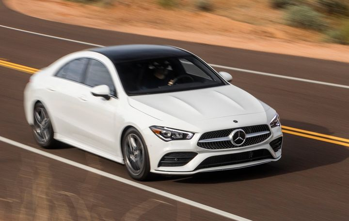 The CLA 250 is one of the affected vehicles for the instrument cluster software-related recall.  - Photo courtesy of Mercedes-Benz.