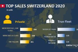 Switzerland Fleet Sales Slide in January