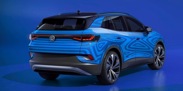 Volkswagen shared an image of the near-production concept vehicle. Volkswagen expects to offer...