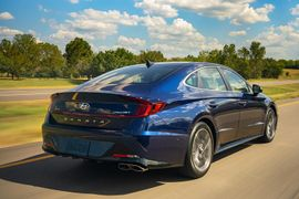 NHTSA Gives 2020 Hyundai Sonata 5-Star Safety Rating