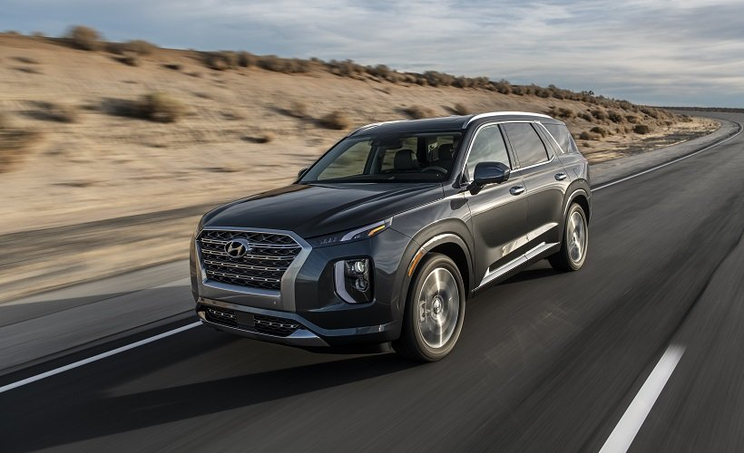 2020 Hyundai Palisade Draws Top Safety Score