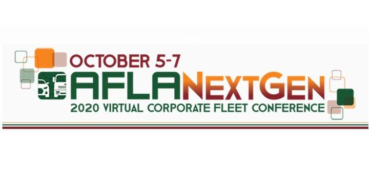 Registration is now open for the AFLA NextGen 2020 Virtual Corporate Fleet Conference, which will be hosted virtually this October 5 – 7, 2020. - Graphic: AFLA