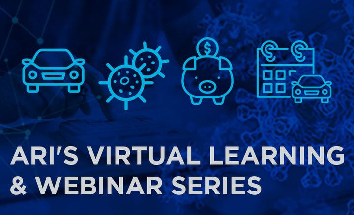 ARI announced a four-part, interactive virtual learning and webinar series which will provide comprehensive fleet management strategies intended to help organizations respond to the impact of the COVID-19 pandemic. - Graphic: ARI