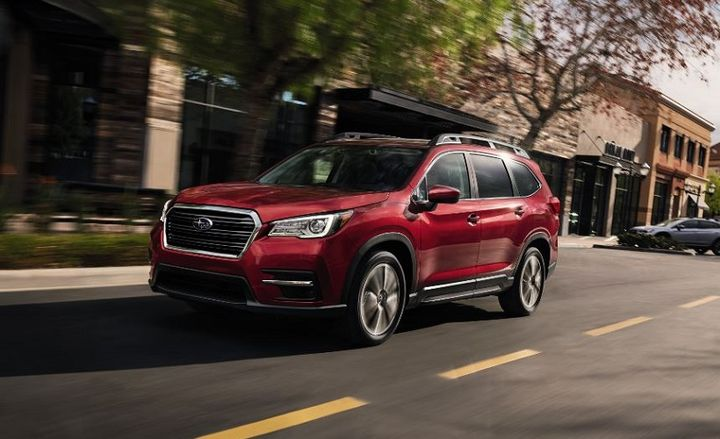 Pricing for the 2021 Subaru Ascent SUV starts at $32,295 and is available in four trim levels: base, premium, limited and touring. - Photo: Subaru