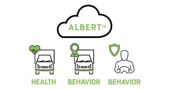 AlbertIQ, the new platform, uses serverless technologies to merge telematics data with Mike...