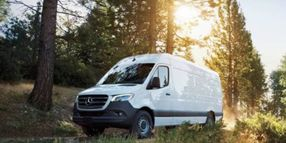 Mercedes-Benz Vans Introduces Four-Cylinder Diesel Cargo Sprinter for the U.S.