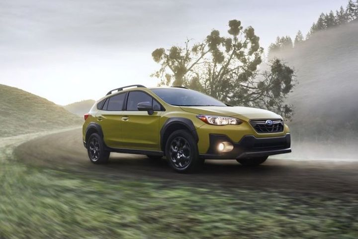 Subaru has named pricing for its 2021 Crosstrek SUV nameplate and introduced a new Sport trim that is available with a new 2.5L four-cylinder engine. - Photo: Subaru