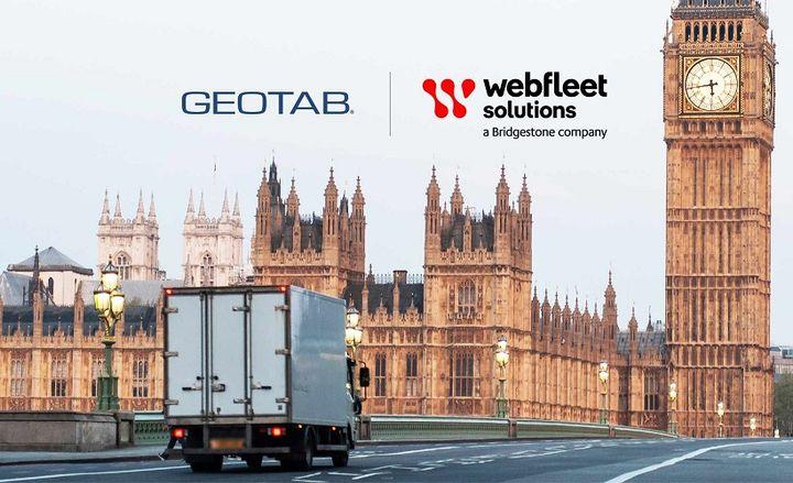Despite a positive trend over last quarter, the U.K. transport sector lags behind its EU peers. - Photo: Geotab