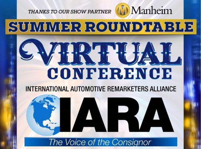 The 2020 IARA Virtual Summer Roundtable has a schedule full of virtual sessions for remarketers and consignors covering today's hot-topic remarketing issues as well as the continued recover of the industry and the future of remarketing. - Graphic: IARA