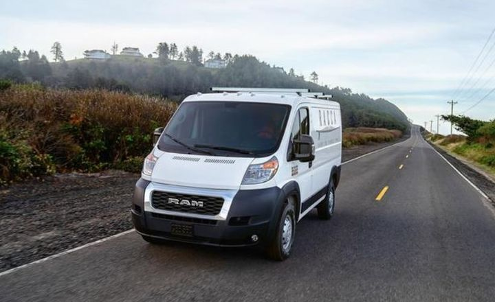 FCA and Waymo are developing an autonomous Ram ProMaster van, and will work together for the development of commercial vehicles for goods movement for commercial delivery customers. - Photo: FCA