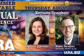 Keynote Speakers for IARA 2020 Summer Roundtable Virtual Conference Revealed