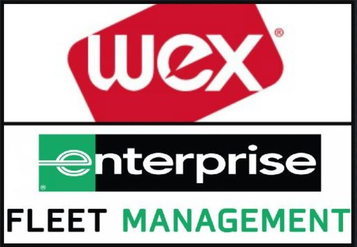 - Logos: WEX and Enterprise Fleet Management