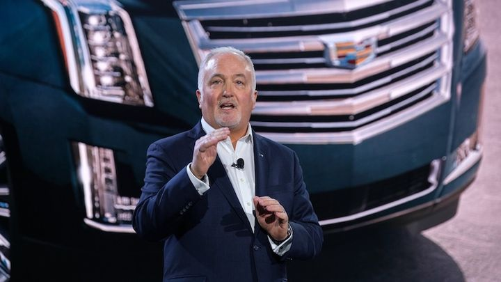 Steve Carlisle, executive VP and president, GM North America, gives an overview on General Motors' current lineup of commercial fleet vehicles, and discusses the next-gen 2021 Chevrolet Tahoe for police and government fleets.
