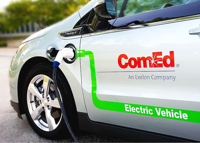 ComEd Increases Fleet Electrification
