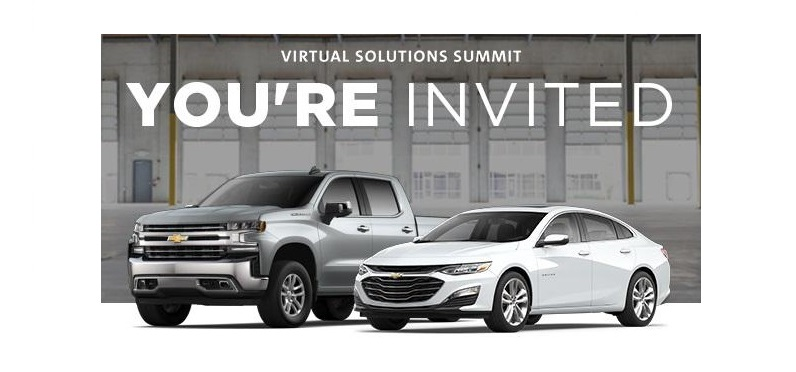 GM Hosting Virtual Solutions Summit on August 25