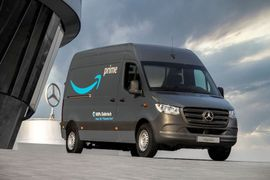 Mercedes-Benz Delivers 1,800 EVs to Amazon's European Fleet, Joins The Climate Pledge