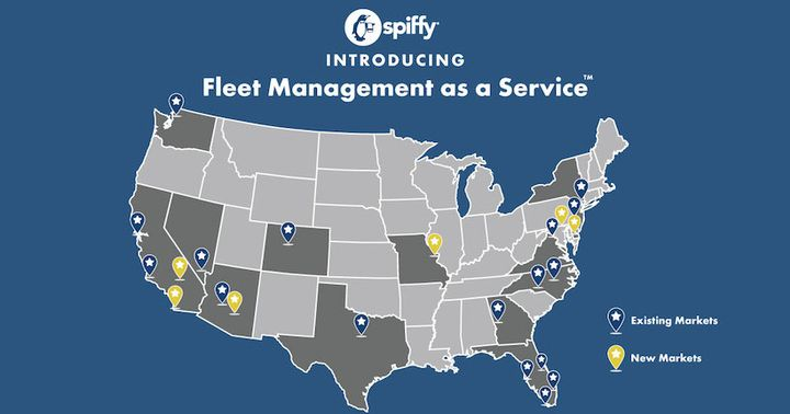 The on-demand car care, technology, and services company has expanded its reach to supported customers throughout the COVID-19 pandemic. - Photo: Get Spiffy