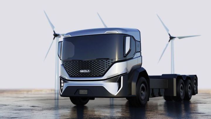 Nikola Corporation recieved a minimum order of 2,500 electrified refuse trucks from Republic Services, expandable up to 5,000. - Photo: Nikola Corp.