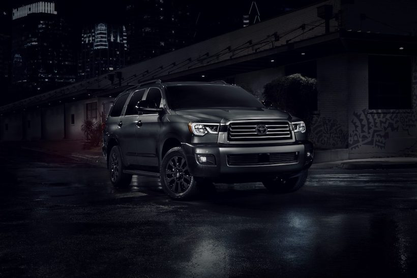 2021 Toyota Sequoia Pricing Starts at $50,100