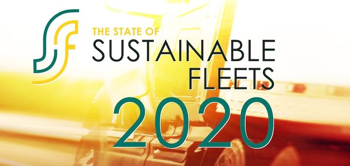 The new report offers insights into the adoption of alternative fuels for a variety of fleet segments. - Graphic: The State of Sustainable Fleets 2020 report