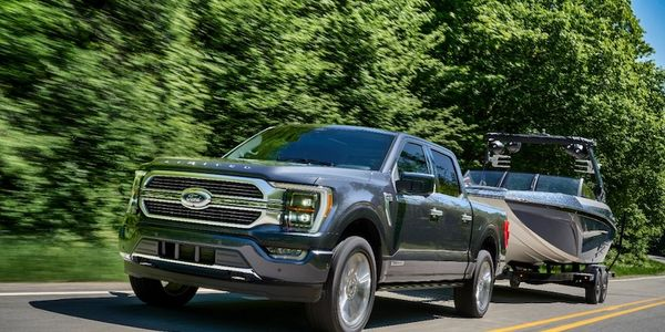 The F-150 achieves its max tow capability when equipped with the available 3.5L EcoBoost V6 and...