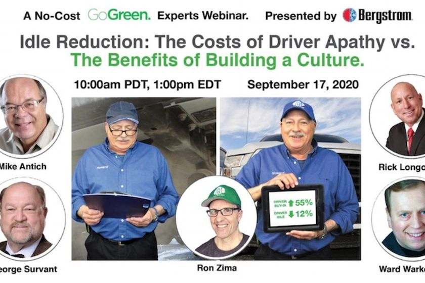 Experts Webinar to Cover Cost & Opportunity Metrics of Idling Engines in Fleets