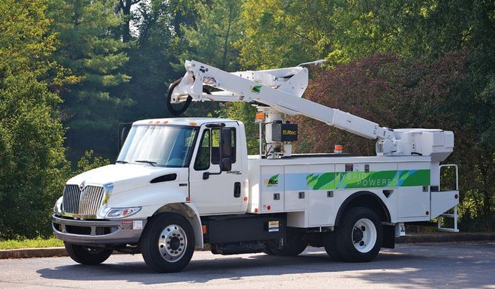 FirstEnergy expects to electrify 30% of its approximately 3,400 light duty and aerial fleet vehicles by 2030, representing 1,034 vehicles. - Photo: FirstEnergy