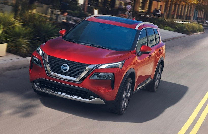 Production of the 2021 Nissan Rogue Underway