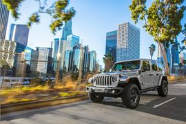 Jeep Wrangler Introduces All-New Plug-in-Hybrid Model
