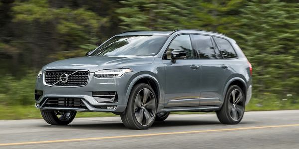 The Volvo XC90 has a $1,500 fleet incentive
