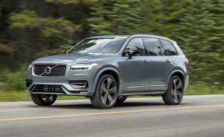 - Photo of the Volvo XC90 courtesy of Volvo