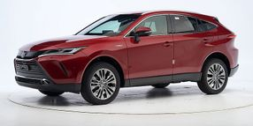 Two Toyota SUVs Earn IIHS Safety Award
