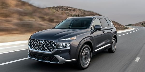 Hyundai announced the 2021 Santa Fe mid-size SUV will feature three available powertrains,...