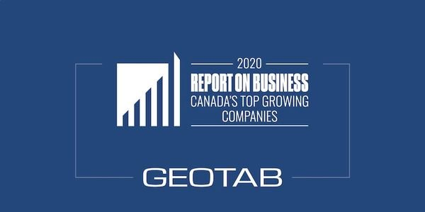 Geotab Recognized as a Top Growing Canadian Business