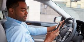 Work Demands Contribute to Distracted Driving Behaviors
