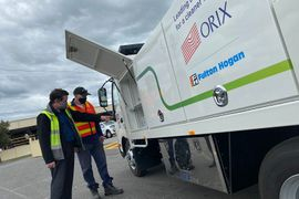 ORIX & SEA Electric Launch EV Truck for Australian Construction Group