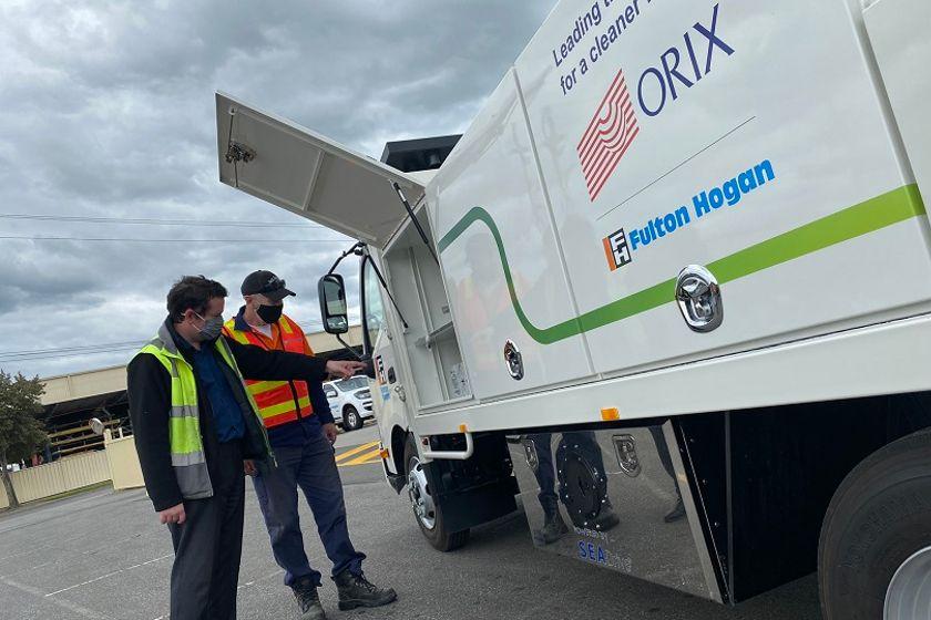 ORIX & SEA Electric Launch EV Truck for Australian Construction Group