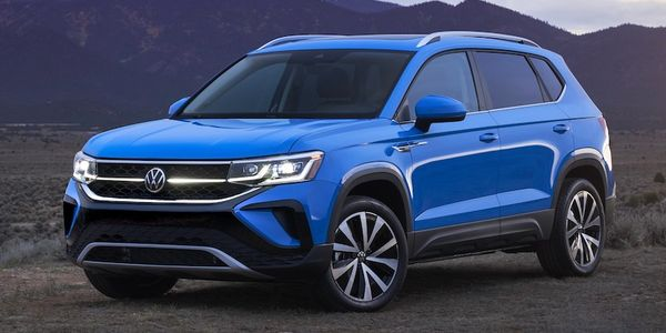 Details for the all-new Volkswagen 2022 Taos, which will slot under the Tiguan in the...