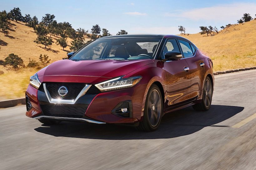 2021 nissan maxima msrp pricing revealed - vehicle